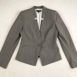 Ann Taylor Single Button Blazer - Size 0P